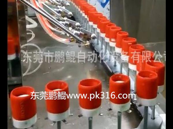 硅胶制品喷手感油